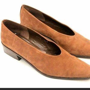 Vintage day glove shoe block heel flats 8.5 narrow